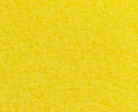Abstrakt gul svamptexturbakgrund Arkivfoton
