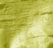Abstrakt gul tygtextur Royaltyfria Foton