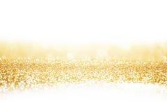 Abstrakt guld- bakgrund Royaltyfria Bilder