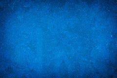 Abstrakt guld- bakgrund av elegant mörker - blå textur Arkivbilder