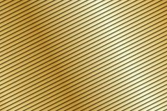 Abstrakt guld- bakgrund, beigea diagonalband Royaltyfria Foton