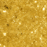 Abstrakt guld- bakgrund med kopieringsutrymme Arkivbilder