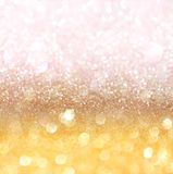 Abstrakt guld- bakgrund med textur Royaltyfria Bilder