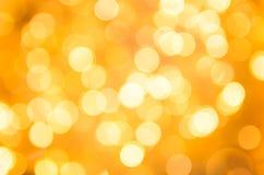 Abstrakt guld- blänker julbakgrund Arkivbild
