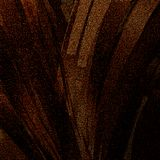 Abstrakt guld- blänker slaglängdkonst för idérika blickar Mörk belagd med tegel yttersidamodell royaltyfri illustrationer