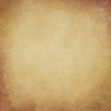 Abstrakt guld hand-målad tappningbakgrund Arkivfoton