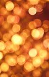 abstrakt guld- lampor Arkivbilder