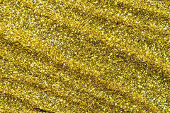 Abstrakt guld- ljus Bokeh bakgrundsguld Royaltyfri Bild