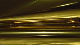Abstrakt guld- ljus Bokeh bakgrundsguld Royaltyfria Foton