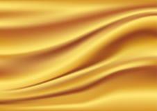 abstrakt guld- silk texturvektor Royaltyfri Bild