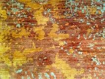 Abstrakt guld- texturmodellbakgrund Arkivbild
