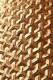 Abstrakt guld- triangel Royaltyfri Foto