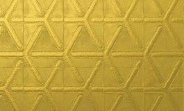 Abstrakt guld- yttersida för bakgrundsdesigner texturerad metallisk guld- bakgrund Royaltyfri Bild