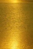 abstrakt guldlampa Arkivbild
