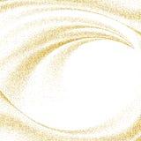Abstrakt guldstoft blänker stjärnavågbakgrund, designmallen EPS10 vektor illustrationer