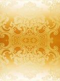 abstrakt guldwallpaper Fotografering för Bildbyråer