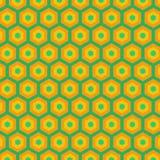 Abstrakt guling- och blåttmodell Arkivbilder