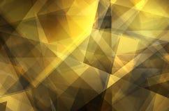 Abstrakt guling- och mörkerbakgrund stock illustrationer