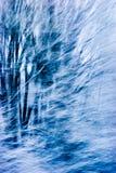 abstrakt häftig snöstorm Arkivbilder