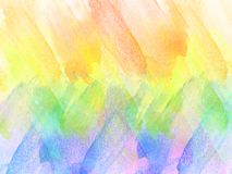 Abstrakt härlig färgrik vattenfärgmålningbakgrund, färgrik borstebakgrund Royaltyfri Fotografi