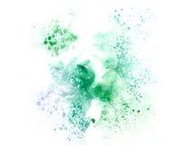 Abstrakt härlig färgrik vattenfärgmålningbakgrund och bakgrund stock illustrationer