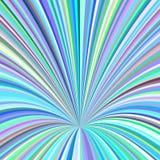 Abstrakt hålbakgrund - vektordesignen från att virvla runt rays Arkivbild