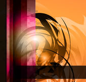 abstrakt hög bakgrundsaffär - tech Royaltyfri Foto
