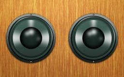 abstrakt högtalare Arkivbild