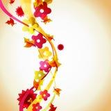 abstrakt höstillustration Royaltyfri Foto