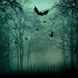 Abstrakt Halloween bakgrunder Royaltyfri Bild