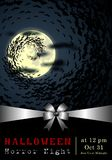 Abstrakt Halloween, szablonu tło obraz stock