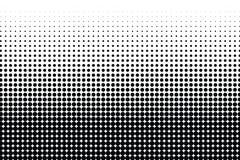 Abstrakt halvton prucken monokrom textur Det kan vara nödvändigt för kapacitet av designarbete Modern enkel bakgrund för affische stock illustrationer
