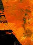 Abstrakt hand målad bakgrund för blandat massmedia Arkivbild