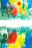 Abstrakt hand tecknad målarfärgbakgrund Royaltyfri Fotografi