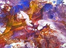 Abstrakt hand tecknad målarfärgbakgrund Royaltyfria Bilder
