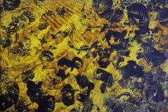 Abstrakt hand tecknad målarfärgbakgrund Arkivbild
