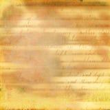abstrakt handskrivet papper Arkivfoton