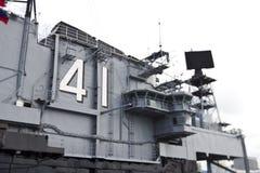 abstrakt hangarfartyg Royaltyfri Bild