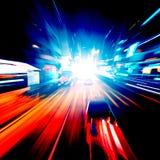 abstrakt hastighet för huvudvägrörelseväg Fotografering för Bildbyråer