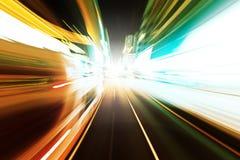 abstrakt hastighet för huvudvägrörelseväg Royaltyfri Foto