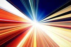 abstrakt hastighet för huvudvägrörelseväg Royaltyfri Bild