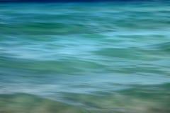 Abstrakt havbakgrund Arkivfoto