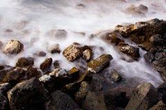 abstrakt havsoluppgång Royaltyfri Bild