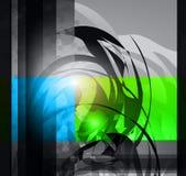 abstrakt hög bakgrundsaffär - tech Royaltyfri Fotografi