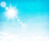 Abstrakt himmelbakgrund för Grunge Royaltyfri Foto