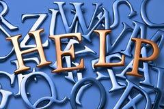 abstrakt hjälp Royaltyfri Bild