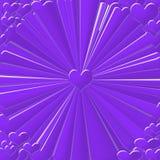 abstrakt hjärta Royaltyfri Foto