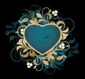 abstrakt hjärta Royaltyfria Foton