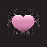 Abstrakt hjärta Arkivbild