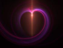 abstrakt hjärta royaltyfri fotografi